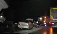 ВИДЕО: В Йыгевамаа столкнулись два автомобиля