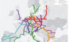 Suured raudteeprojektid tänases Euroopas (Rail Baltic pole ju mingi erand)