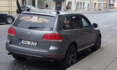 ФОТО: В Литве за демонстрацию советской символики задержан гражданин Эстонии