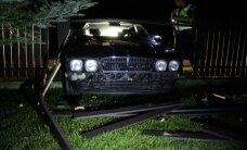 FOTOD: Jaak Joala poeg Janar sõitis purjus peaga puruks nii oma isa kuulsa Jaguari kui eramaja aia