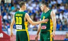 Korvpallikoondiste kontrollmängud: Leedu alistas Austraalia, Tallinnasse tulev Saksamaa kaotas Ukrainale