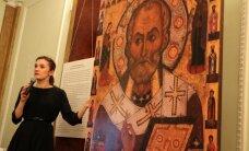 """ФОТО и ВИДЕО: """"Безмолвная проповедь"""". В Таллинне открылась выставка древнерусских икон"""