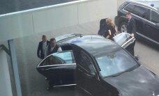 ФОТО: Президент Ильвес вместе с супругой отправился с рабочим визитом в США