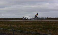 ВИДЕО: Самолет Lufthansa совершил аварийную посадку в Канаде, на борту были и эстонцы