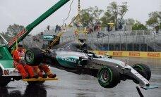VIDEO: Lewis Hamilton sõitis Kanada GP teisel vabatreeningul seina