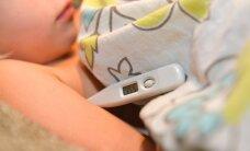 Ettevaatust! Gripilaadsed haigused kimbutavad endiselt väikelapsi