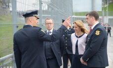 Ильвес в Нарве: нарвские пограничники обеспечивают безопасность всей Эстонии