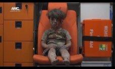 ВИДЕО: Кадры с окровавленным мальчиком из Алеппо потрясли мир