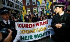 Kurdi meeleavaldajad tungisid Rootsis uudisteagentuuri hoonesse
