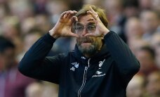 Klopp ja Liverpool võitsid linnaderbys Evertoni suisa 4:0