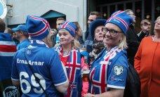 TELETOP: 100% jalkalainel — Eesti televaatajad kinkisid eriti suure tähelepanu Islandi meeskonna ponnistustele