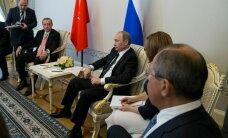 Главы разведки Турции и Генштаба РФ присоединились к встрече Путина и Эрдогана
