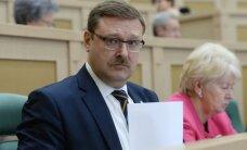 Косачев: мы обсудили с Асадом и европарламентариями от Эстонии, Латвии, Италии предстоящее перемирие в Сирии