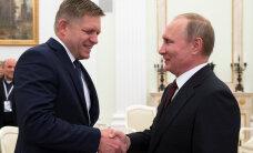 Slovakkia peaminister pärast Putiniga kohtumist: sanktsioonid peavad lõppema