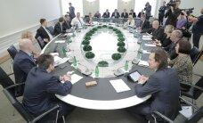 ФОТО: Новые члены правительства ознакомились с организацией труда в министерствах