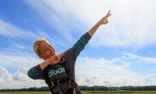 PUBLIKU VIDEO: Saara Kadak käis langevarjuga hüppamas: ma olen täiesti sõnatu!
