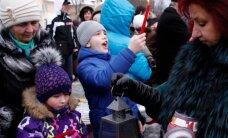 ФОТО: Мэр Кохтла-Ярве провозгласила Рождественский мир