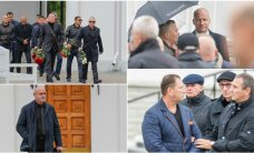 DELFI FOTOD: Allilmaliidrid, kurjategijad, ärimehed: Tarankovi matustel käis äärmiselt kirev seltskond