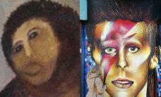 FOTOD: Ahv-Jeesus vs Ahv-Bowie! Untsu läinud seinamaalist on kiirelt saanud rahva naerualune