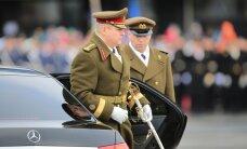 Kaitseväe juhataja andis õppuse korras kõigile üksustele käsu valmisolekuks