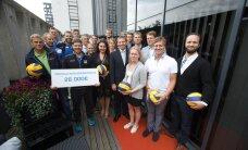 FOTO: Maailmaliigasse jõudnud võrkpallikoondist premeeriti 26 000 euroga