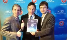 Eesti Jalgpalli Liit teenis Euroopa turundusauhinna