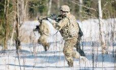 Soome erivägede karmil talvisel õppusel osalevad ka USA ja Eesti sõjaväelased
