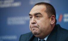 В Луганске взорвали машину главы ЛНР Плотницкого