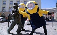 LÕBUSAD FOTOD: Animakangelased minionid jõudsid Tallinnasse