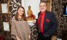 Getter Jaani ja Allan Roosileht Thai Rose Spa sünnipäeval