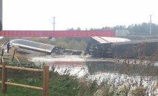 Strasbourg'i lähedal paiskus reisirong kiiruskatsetusel rööbastelt maha sillalt alla jõkke, 10 inimest sai surma