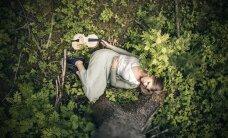 Maarja Nuut leidis metsaservast laule ja tõi need koos mullaga tuppa