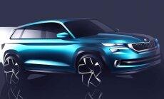 Ideeauto VisionS: selline näeb välja tulevane Škoda maasturite lipulaev