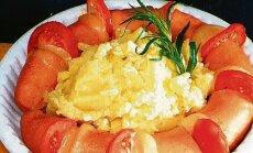 Saunavorst kartulipudruga.