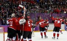 3:0! Kanada võitis ajaloo üheksanda olümpia jäähokikulla