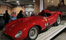 Kas kuulus jalgpallur ostis Oksjonile läinud 1957. aasta Ferrari 335 S Spider Scaglietti?