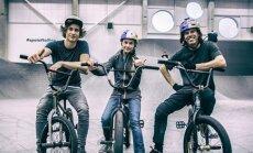 FOTO: Kelly Sildaru tegi BMX-i staaridega koos trenni