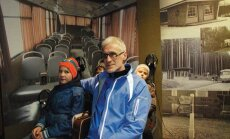 Koolibussijuhist rattatreener Kaido Kriit teeb mõlemat tööd südamega