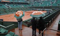 Vihm sundis French Openi mängud ära jätma