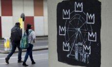 В центре Лондона появились новые работы Бэнкси
