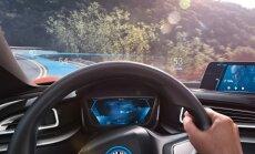 BMW ideeauto i Vision Future Interactioni roolivaade