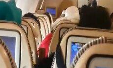VIDEO: Ägedasse turbulentsi sattunud lennukis sai üle 30 inimese vigastada