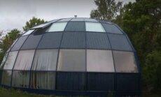 Ime Hiiumaal: päikeseenergial töötav kuppelmaja majandab end ise
