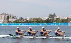 Rio olümpia sõudmise paarisaerulise neljapaadi eelsõit