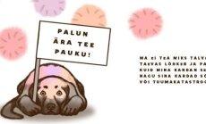 Eesti loomaomanikud kutsuvad rahvast üles lõpetama üleliigne paugutamine ja mõtlema loomade heaolule