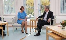 Kaljulaidiga kohtunud Soome president Niinistö: NATO ei aita meid