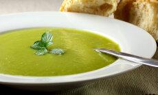 Диетический суп-пюре из зеленых овощей