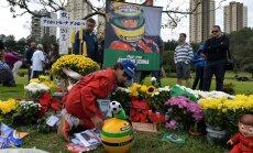 Ayrton Senna mälestamine Sao Paulos