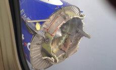 ÕUDNE FOTO: Ameerika reisilennuk kaotas Mehhiko lahe kohal mootori ja pidi hädamaanduma