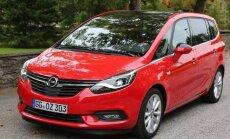 Proovisõit: Opel Zafira - auto, mida ka paadunud